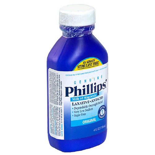 Phillips'® Milk of Magnesia Laxative, 1/EA