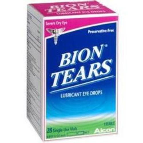 Bion Tears® Lubricant Eye Drops, 28/BX