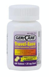 Geri-Care Travel-Ease Nausea Relief, 12/CS