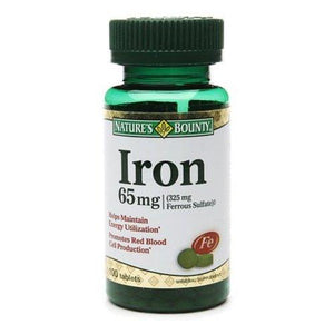 Nature's Bounty Iron Supplement, 1/BT