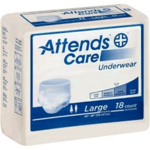 Attends®Care Absorbent Underwear, 25/BG