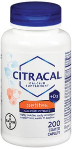 Citracal® Calcium with Vitamin D Supplement, 200/BT