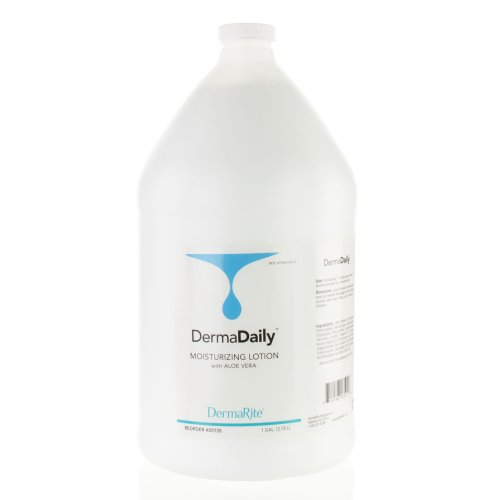 DermaDaily® Hand and Body Moisturizer, 1 gal. Jug, 1/EA
