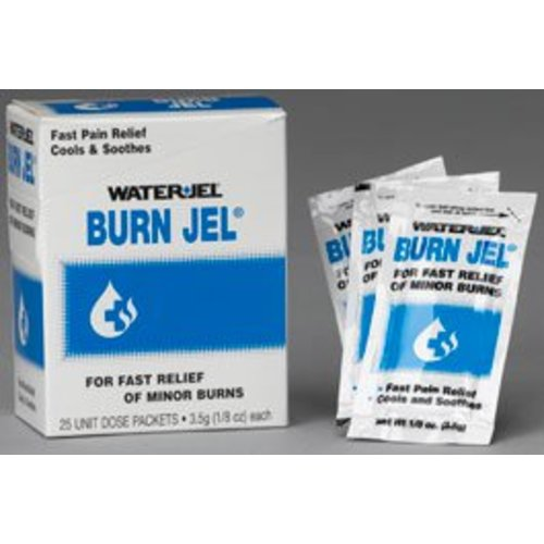 Water Jel® Burn Jel® Burn Relief, 25/BX