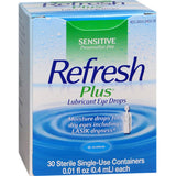 Refresh Plus® Lubricant Eye Drops, 30/BX