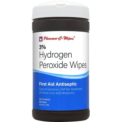 Pharma-C-Wipes™ Hydrogen Peroxide Wipes, 240/CS