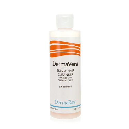 Dermarite Industries DermaVera® Shampoo and Body Wash, 1 gal. Jug, 4/CS