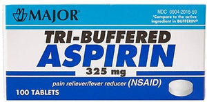 Major® Buffered Aspirin, 1/BT