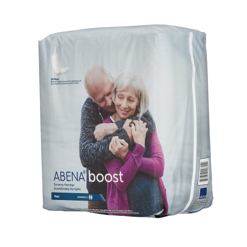 Abena Boost Adult Disposable Moderate-Absorbent Incontinence Booster Pad, 6-1/4 X 24 Inch, 20/BG