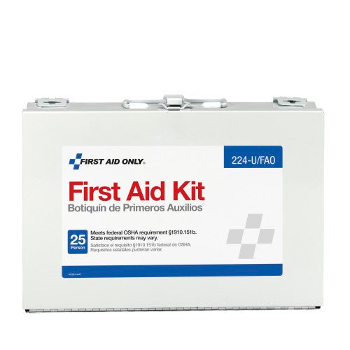 Acme First Aid Only® 25-Person, 107 Piece Bulk First Aid Kit, 1/EA