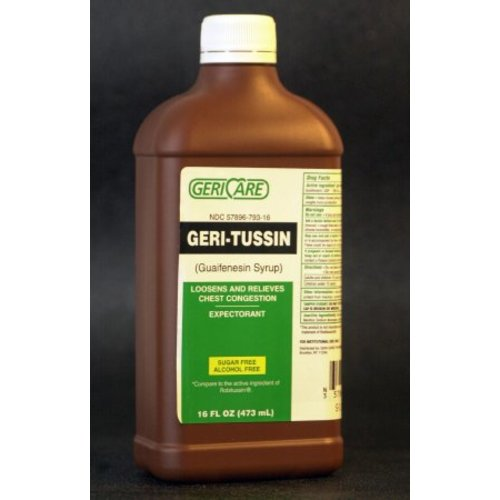 Geri-Tussin Cough Relief, 1/EA