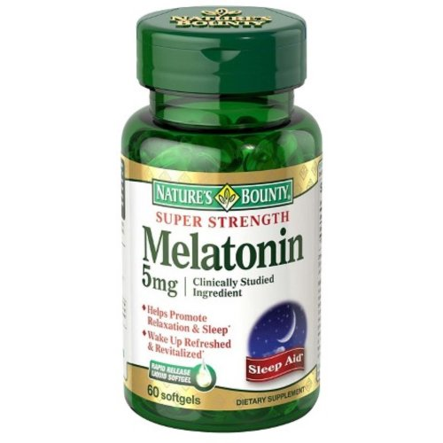 Nature's Bounty Melatonin Supplement, 1/BT