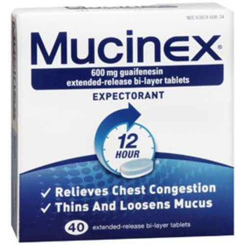 Mucinex® Cough Relief, 40/BX