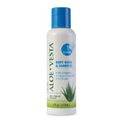ConvaTec® Aloe Vesta® Shampoo and Body Wash, 1/EA