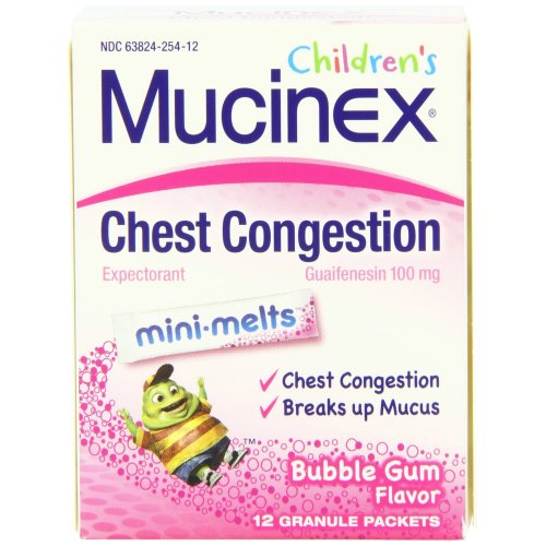 Children's Mucinex® Mini-Melts™ Cough Relief, 12/PK