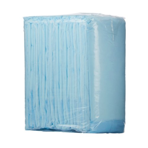 Wings™ Disposable Light-Absorbent Underpad, 23 X 36 Inch, Blue, 10/BG