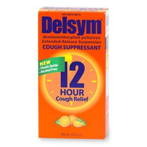 Delsym® Cough Relief, 1/EA