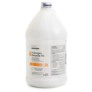 McKesson Antiseptic Hydrogen Peroxide Topical Solution, 1 gal. Bottle, 1/EA