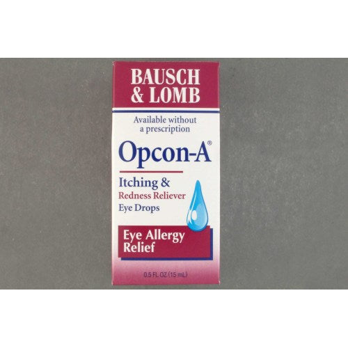 Opcon-A Antihistamine Eye Drops, 1/EA