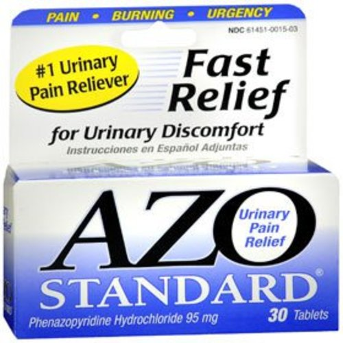 AZO Standard Urinary Pain Relief, 1/BX