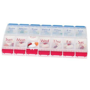 Apothecary Products® Pill Organizer X-Large 7 Day, 6/PK