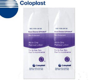 Coloplast Baza® Cleanse and Protect® Perineal Wash Individual Packet, 300/CS