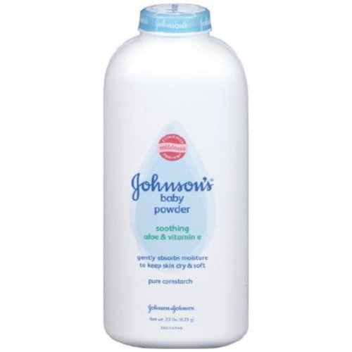 Johnson's® Cornstarch Baby Powder, 1/EA