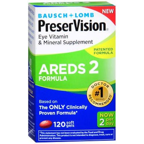 PreserVision® Areds 2 Eye Vitamin with Lutein Supplement, 1/BT