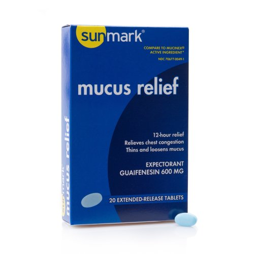 sunmark® mucus E.R.™ Cold and Cough Relief, 20/BT