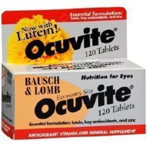 Ocuvite® Eye Vitamin and Mineral Supplement with Lutein, 1/BT
