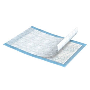 TENA® Extra Disposable Light-Absorbent Underpad, 23 X 36 Inch, Blue, 25/BG