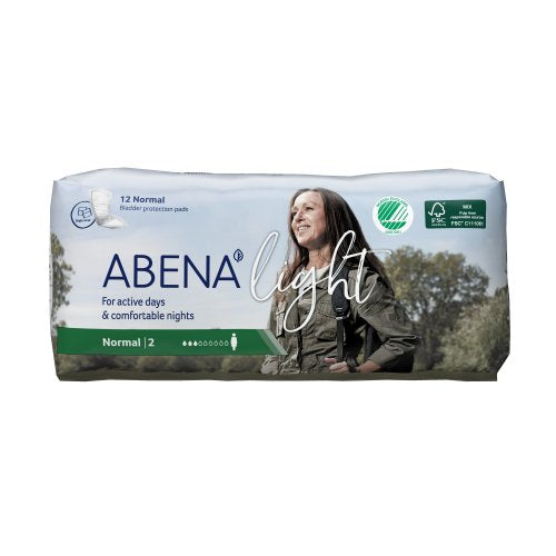 Abena™-Light Normal Bladder Control Pad, 12/BG