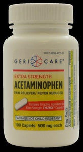 Geri-Care Acetaminophen, 100/BT