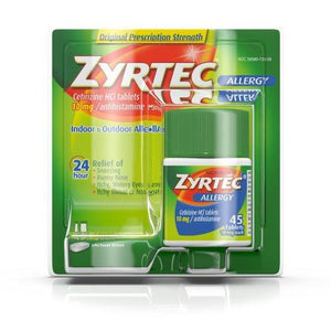 Zyrtec® Allergy Relief, 1/BT