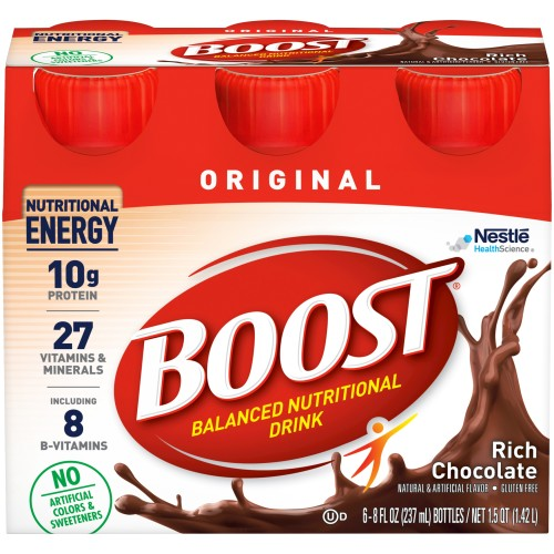 Boost® Original Ready to Use Oral Supplement, Chocolate, 8 oz. Bottle, 1/EA