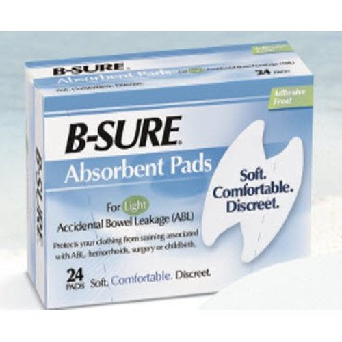 B-Sure® Incontinence Liner, 24/BX