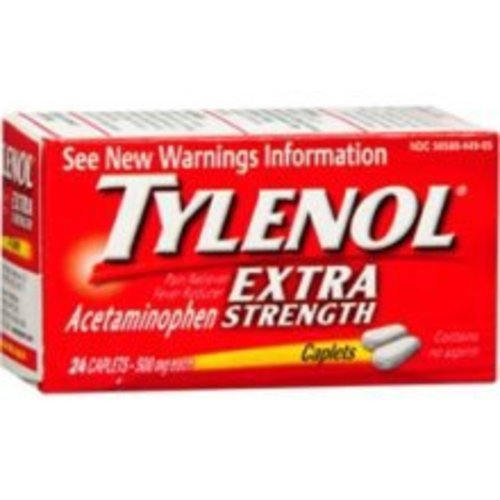 Tylenol® Acetaminophen, 24/BT