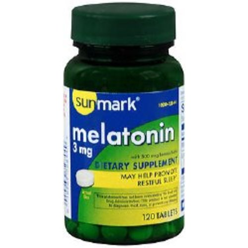 sunmark® Melatonin Supplement, 120/BT
