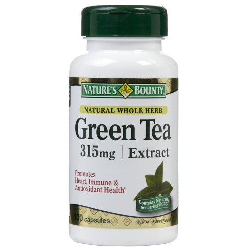 Nature's Bounty Green Tea Extract Supplement, 1/BT