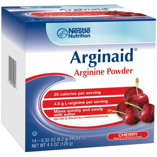 Arginaid® Arginine Supplement, Cherry, 0.32 Packet, 1/EA