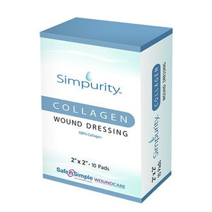 Simpurity™ Wound Dressing, 2 x 2 Inch, 1/EA