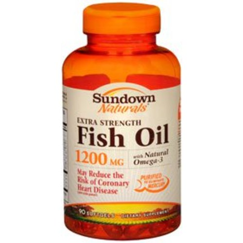 Sundown Naturals® Fish Oil Supplement, 1/EA