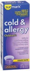 sunmark® Children's Cold and Allergy Relief, 1/EA