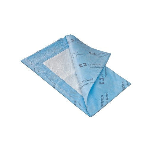 Wings™ Quilted Disposable Heavy-Absorbent Underpad, 23 X 36 Inch, Blue, 12/BG