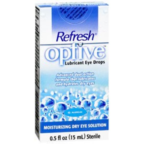 Refresh® Optive™ Lubricant Eye Drops, 1/EA
