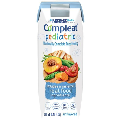 Compleat® Pediatric Tube Feeding Formula, 8.45 oz. Carton, 1/EA