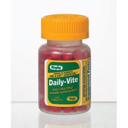 Daily-Vite® Multivitamin Supplement, 100/BT