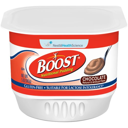 Boost® Nutritional Pudding Ready to Use Oral Supplement, 5 oz. Cup, Chocolate, 1/EA