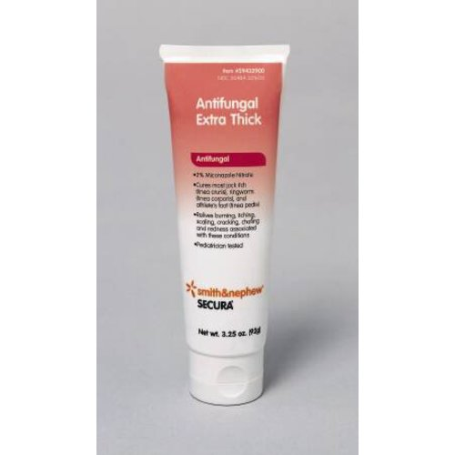 Smith & Nephew Secura™ 2% Strength Antifungal Cream, 3¼ oz Tube, 1/EA