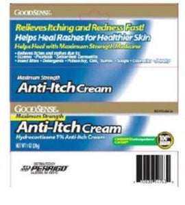 Perrigo Company Itch Relief 1% Strength Cream, 1/EA